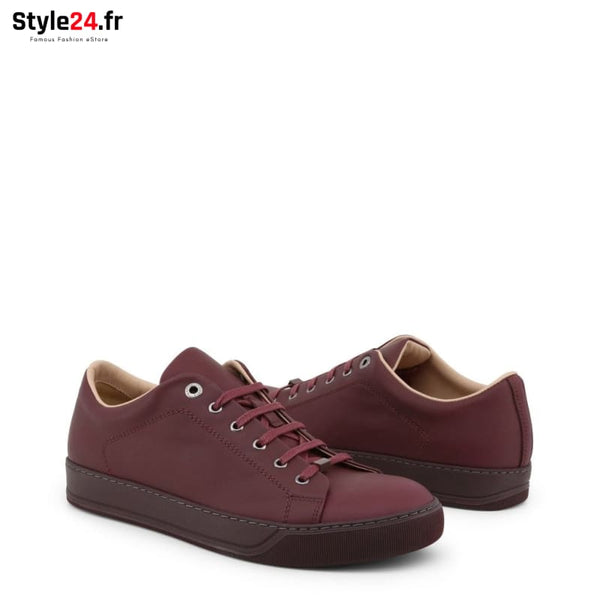 Lanvin - FM-SKDBNC-VNAP-P18 Chaussures Sneakers Brand_Lanvin Category_Chaussures Color_Rouge Gender_Homme Subcategory_Sneakers