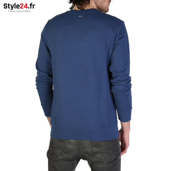 Napapijri - BONTHE_N0YIIU Vêtements Sweat-shirts 50-100 Brand_Napapijri Category_Vêtements color-blue Color_Bleu www.style24.fr