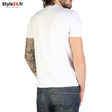 Napapijri - SALKA_N0YIHB Vêtements T-shirts Brand_Napapijri Category_Vêtements Color_Blanc Gender_Homme Subcategory_T-shirts