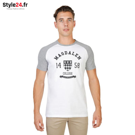 Oxford University - MAGDALEN-RAGLAN-MM Vêtements T-shirts grey / M -70% Brand_Oxford Category_Vêtements color-grey color-gris Color_Gris