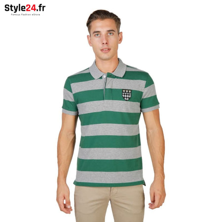 Oxford University - MAGDALEN-RUGBY-MM Vêtements Polo Brand_Oxford Category_Vêtements Color_Vert Gender_Homme Subcategory_Polo