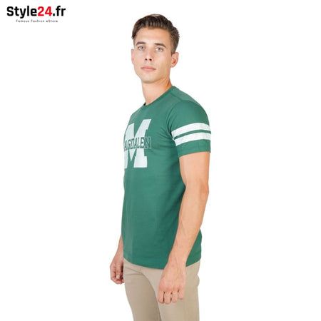 Oxford University - MAGDALEN-STRIPED-MM Vêtements T-shirts Brand_Oxford Category_Vêtements Color_Vert Gender_Homme Subcategory_T-shirts