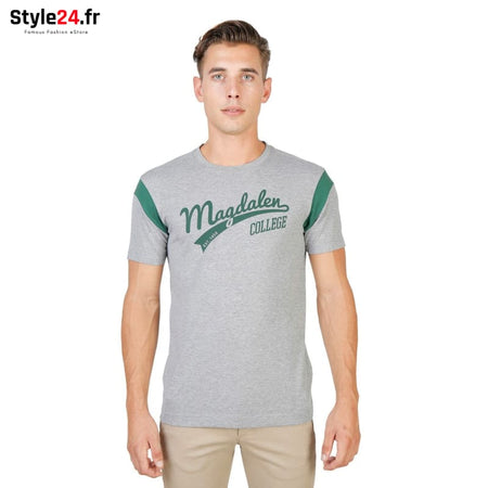 Oxford University - MAGDALEN-VARSITY-MM Vêtements T-shirts grey / S -70% Brand_Oxford Category_Vêtements color-grey color-gris Color_Gris