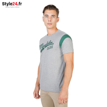 Oxford University - MAGDALEN-VARSITY-MM Vêtements T-shirts Brand_Oxford Category_Vêtements Color_Gris Gender_Homme Subcategory_T-shirts