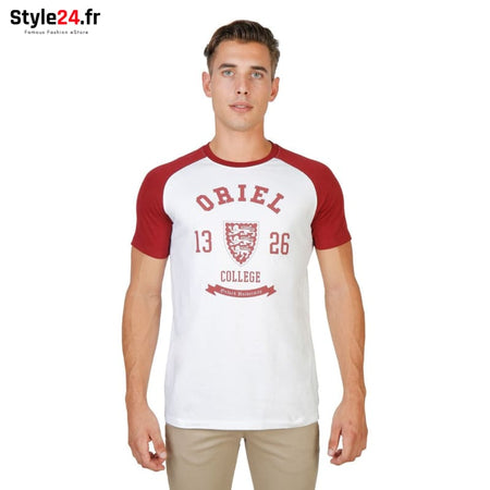 Oxford University - ORIEL-RAGLAN-MM Vêtements T-shirts red / S -70% Brand_Oxford Category_Vêtements color-red color-rouge Color_Rouge