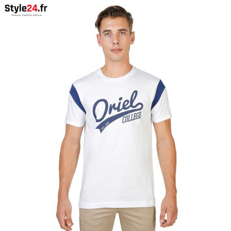 Oxford University - ORIEL-VARSITY-MM Vêtements T-shirts white / S -70% Brand_Oxford Category_Vêtements color-blanc color-white Color_Blanc