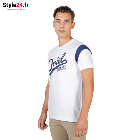 Oxford University - ORIEL-VARSITY-MM Vêtements T-shirts Brand_Oxford Category_Vêtements Color_Blanc Gender_Homme Subcategory_T-shirts