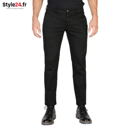Oxford University - OXFORD_PANT-REGULAR Vêtements Pantalons black / 30 -70% 20-50 Brand_Oxford Category_Vêtements color-black color-noir