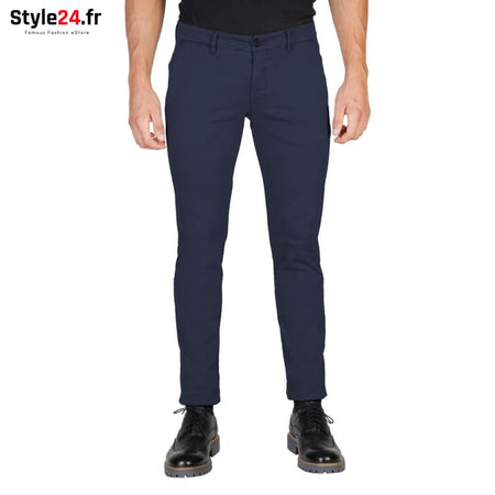 Oxford University - OXFORD_PANT-REGULAR Vêtements Pantalons blue / 31 -70% 20-50 Brand_Oxford Category_Vêtements color-blue Color_Bleu