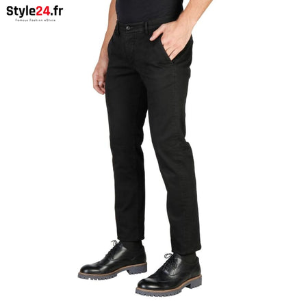 Oxford University - OXFORD_PANT-REGULAR Vêtements Pantalons Brand_Oxford Category_Vêtements Color_Noir Gender_Homme Subcategory_Pantalons