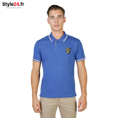 Oxford University - TRINITY-POLO-MM Vêtements Polo blue / M -60% Brand_Oxford Category_Vêtements color-blue Color_Bleu Gender_Homme