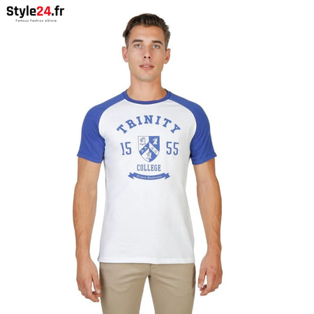 Oxford University - TRINITY-RAGLAN-MM Vêtements T-shirts blue / S -70% Brand_Oxford Category_Vêtements color-blue Color_Bleu Gender_Homme