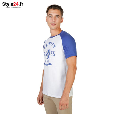 Oxford University - TRINITY-RAGLAN-MM Vêtements T-shirts Brand_Oxford Category_Vêtements Color_Bleu Gender_Homme Subcategory_T-shirts