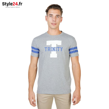 Oxford University - TRINITY-STRIPED-MM Vêtements T-shirts grey / S -75% Brand_Oxford Category_Vêtements color-grey color-gris Color_Gris