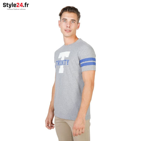 Oxford University - TRINITY-STRIPED-MM Vêtements T-shirts Brand_Oxford Category_Vêtements Color_Gris Gender_Homme Subcategory_T-shirts