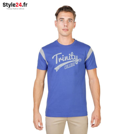 Oxford University - TRINITY-VARSITY-MM Vêtements T-shirts blue / S -70% Brand_Oxford Category_Vêtements color-blue Color_Bleu Gender_Homme