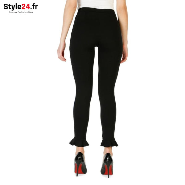 Pinko - 1G12Y5-6769 Vêtements Pantalons Brand_Pinko Category_Vêtements Color_Noir Gender_Femme Subcategory_Pantalons www.style24.fr