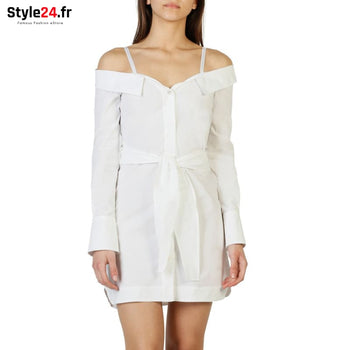 Pinko - 1G12YX_Y48F Vêtements Robes white / 38 -60% Brand_Pinko Category_Vêtements Color_Blanc Gender_Femme Subcategory_Robes
