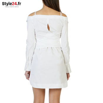 Pinko - 1G12YX_Y48F Vêtements Robes Brand_Pinko Category_Vêtements Color_Blanc Gender_Femme Subcategory_Robes www.style24.fr