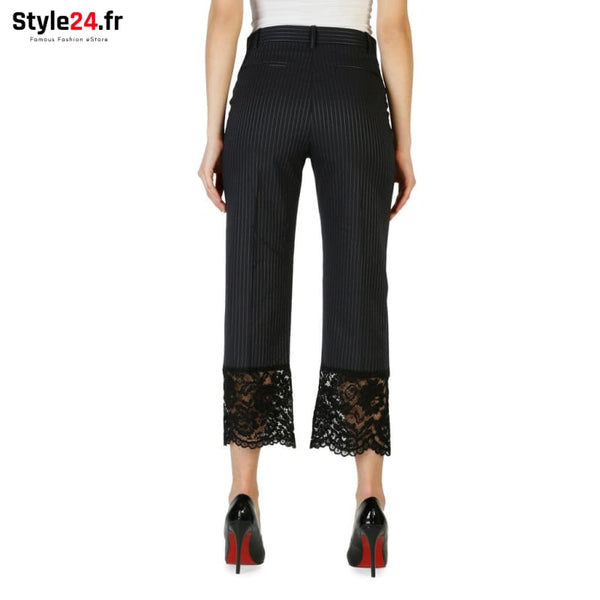 Pinko - 1G12ZG-6812 Vêtements Pantalons Brand_Pinko Category_Vêtements Color_Noir Gender_Femme Subcategory_Pantalons www.style24.fr