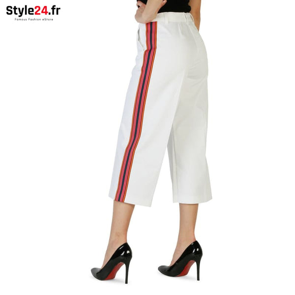 Pinko - 1G132V_5313 Vêtements Pantalons Brand_Pinko Category_Vêtements Color_Blanc Gender_Femme Subcategory_Pantalons www.style24.fr