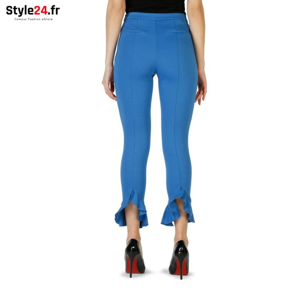 Pinko - 1G1335_6200 Vêtements Pantalons Brand_Pinko Category_Vêtements Color_Bleu Gender_Femme Subcategory_Pantalons www.style24.fr
