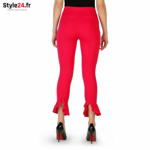 Pinko - 1G1335_6200 Vêtements Pantalons Brand_Pinko Category_Vêtements Color_Rose Gender_Femme Subcategory_Pantalons www.style24.fr