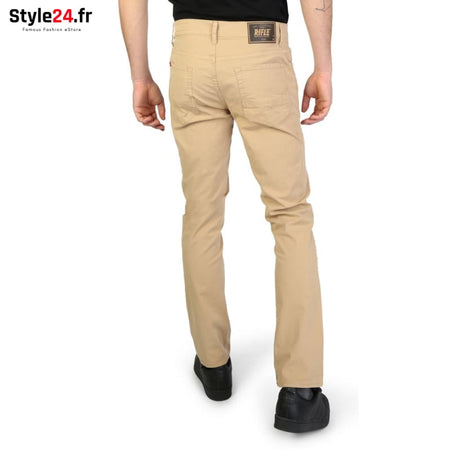 Rifle - 93166_KU00T Vêtements Pantalons Brand_Rifle Category_Vêtements Color_Brun Gender_Homme Subcategory_Pantalons www.style24.fr