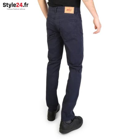 Rifle - 93166_KU00T Vêtements Pantalons Brand_Rifle Category_Vêtements Color_Bleu Gender_Homme Subcategory_Pantalons www.style24.fr