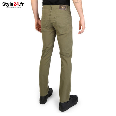 Rifle - 93166_KU00T Vêtements Pantalons Brand_Rifle Category_Vêtements Color_Vert Gender_Homme Subcategory_Pantalons www.style24.fr