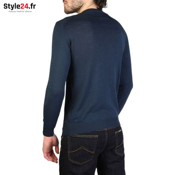 Rifle - KP060_TB80T Vêtements Pulls Brand_Rifle Category_Vêtements Color_Bleu Gender_Homme Subcategory_Pulls www.style24.fr