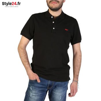 Rifle - L678D_RN899 Vêtements Polo black / S -5% 20-50 Brand_Rifle Category_Vêtements color-black color-noir www.style24.fr