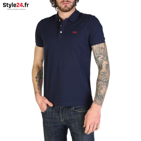 Rifle - L678D_RN899 Vêtements Polo blue / S -5% 20-50 Brand_Rifle Category_Vêtements color-blue Color_Bleu www.style24.fr