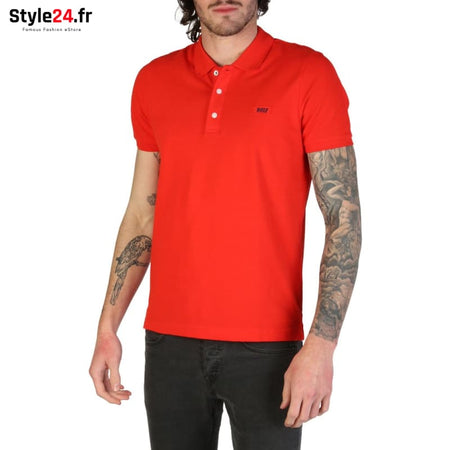 Rifle - L678D_RN899 Vêtements Polo red / S -5% 20-50 Brand_Rifle Category_Vêtements color-red color-rouge www.style24.fr