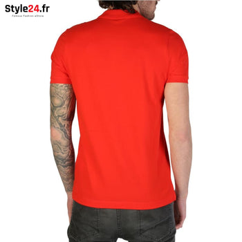 Rifle - L678D_RN899 Vêtements Polo Brand_Rifle Category_Vêtements Color_Rouge Gender_Homme Subcategory_Polo www.style24.fr