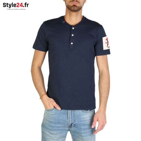 Rifle - L709B_UF001 Vêtements T-shirts blue / M -10% 20-50 Brand_Rifle Category_Vêtements color-blue Color_Bleu www.style24.fr