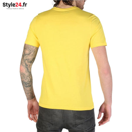 Rifle - L7300_KW50X Vêtements T-shirts Brand_Rifle Category_Vêtements Color_Jaune Gender_Homme Subcategory_T-shirts www.style24.fr
