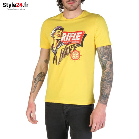 Rifle - L7300_KW50X Vêtements T-shirts yellow / S -15% Brand_Rifle Category_Vêtements color-jaune color-yellow Color_Jaune www.style24.fr