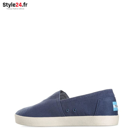 TOMS - CANVAS-NEWOS_10007052 Chaussures Slip-on 20-50 Brand_TOMS Category_Chaussures chaussures-slip-on color-blue www.style24.fr