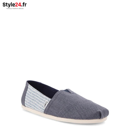 TOMS - DEEP-OCEAN-LINEN Chaussures Slip-on 20-50 Brand_TOMS Category_Chaussures chaussures-slip-on color-blue www.style24.fr