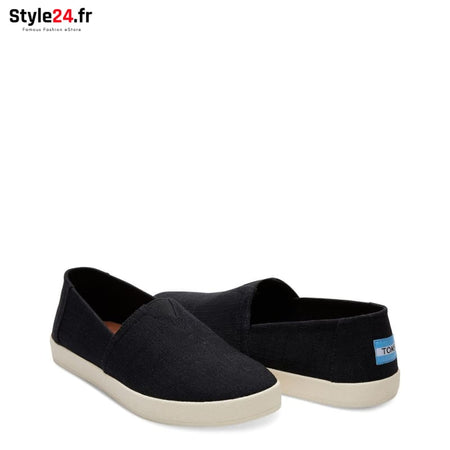 TOMS - LINEN-BF_10011001 Chaussures Slip-on 20-50 Brand_TOMS Category_Chaussures chaussures-slip-on color-black www.style24.fr