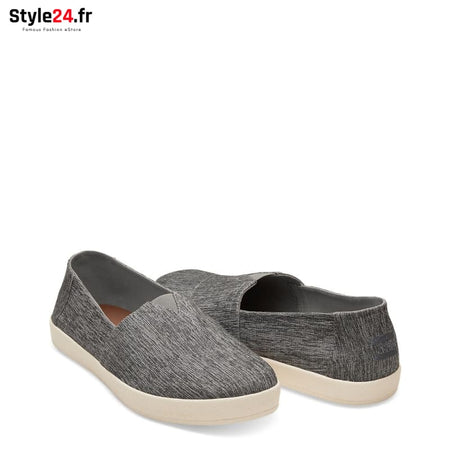 TOMS - SPACE-DYE-AVA_10009979 Chaussures Slip-on 20-50 Brand_TOMS Category_Chaussures chaussures-slip-on color-grey www.style24.fr