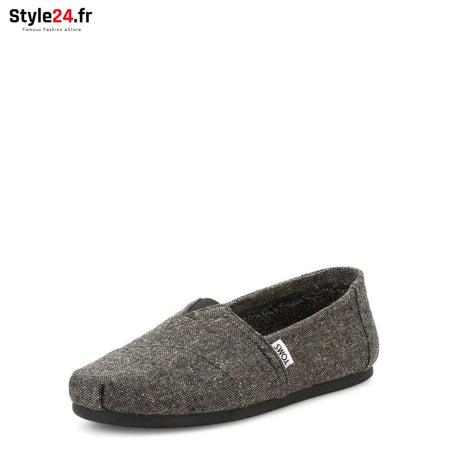 TOMS - TWEED-SHEARLING_10010837 Chaussures Slip-on 20-50 Brand_TOMS Category_Chaussures chaussures-slip-on color-grey www.style24.fr