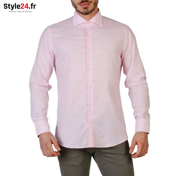 Trussardi - 32C17SINT Vêtements Chemises pink / 39 -65% 20-50 Brand_Trussardi brandsdistribution Category_Vêtements color-pink