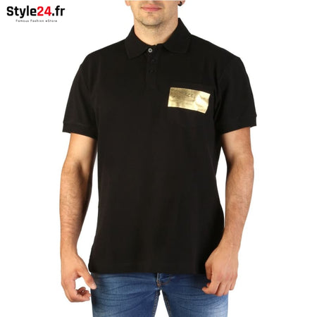 Versace Jeans - B3GTB7PE_90134 Vêtements Polo black / 46 -25% Brand_Versace Category_Vêtements color-black color-noir Color_Noir