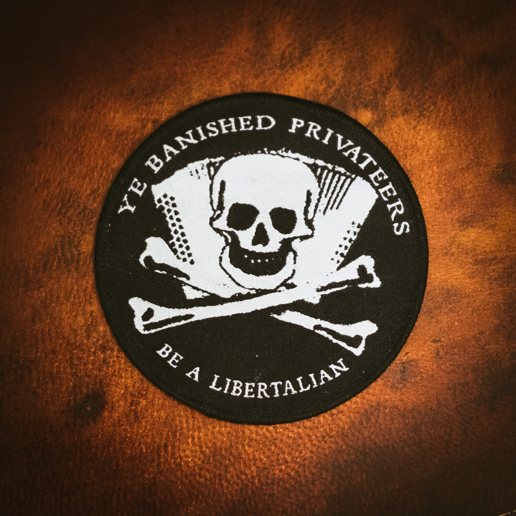 Ye Banished Privateers Cloth Patch