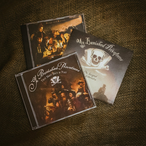 Special offer bundle: All four Ye Banished Privateers CDs