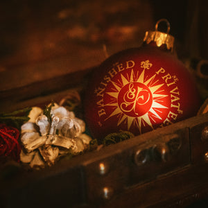 Ye Banished Privateers Christmas Bauble: Anno 1718 Edition