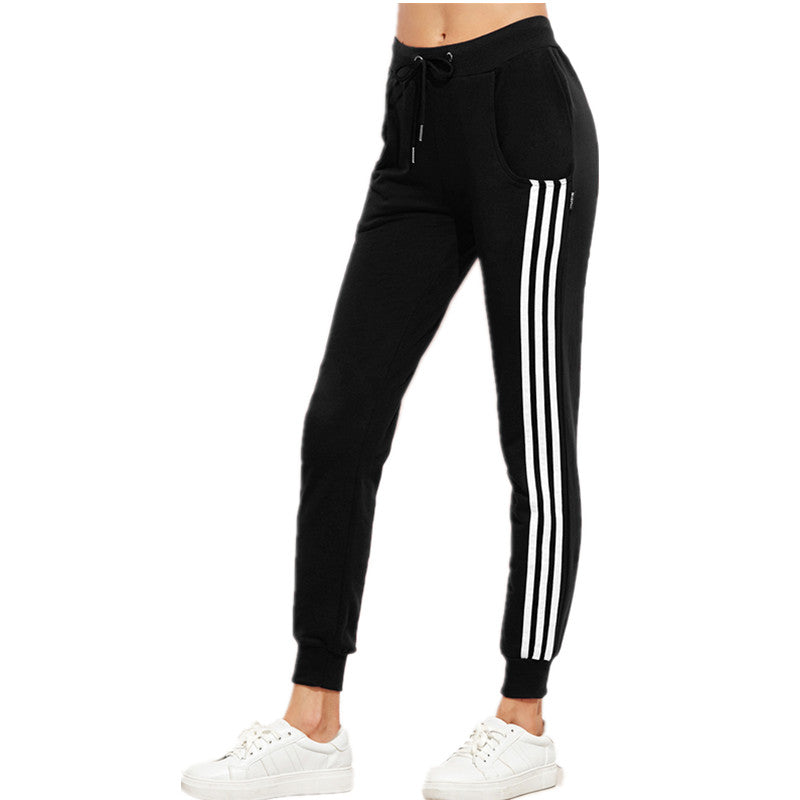 Women's Striped Joggers