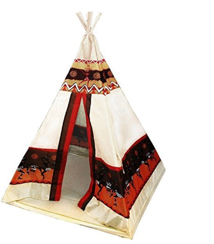 Teepee Tent Kids Play Tents Indian Playhouse